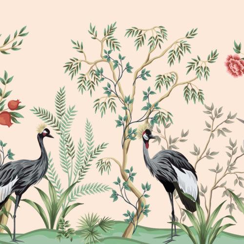 Vintage kraanvogels 3