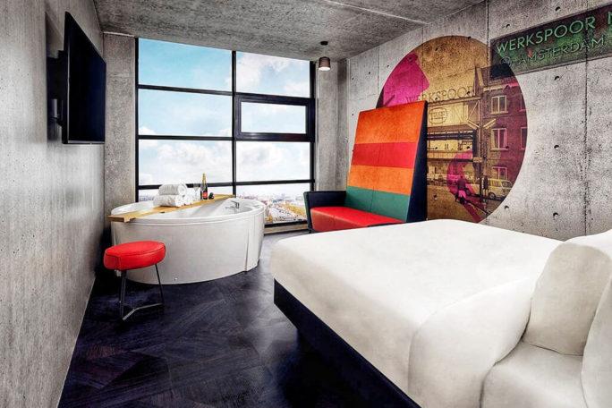 Inntel hotels amsterdam landmark spa kamer